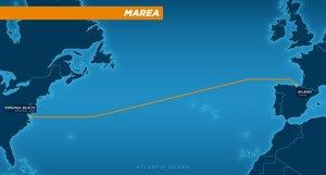 Facebook y Microsoft desplegarán un cable submarino entre España y EEUU operado por Telxius (Telefónica) (MICROSOFT)
