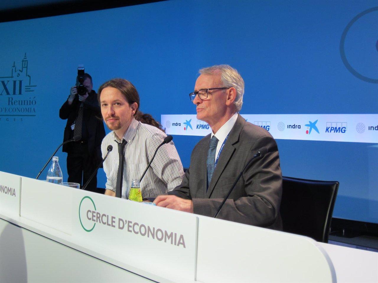 Pablo Iglesias: 'Tarde o temprano habrá referéndum en Catalunya'