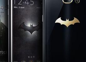 El diseño del nuevo Galaxy S7 Edge inspirado en Batman