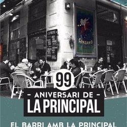 El barri de Sant Antoni celebra els 99 anys del Bar La Principal amb activitats culturals (LA PRINCIPAL)