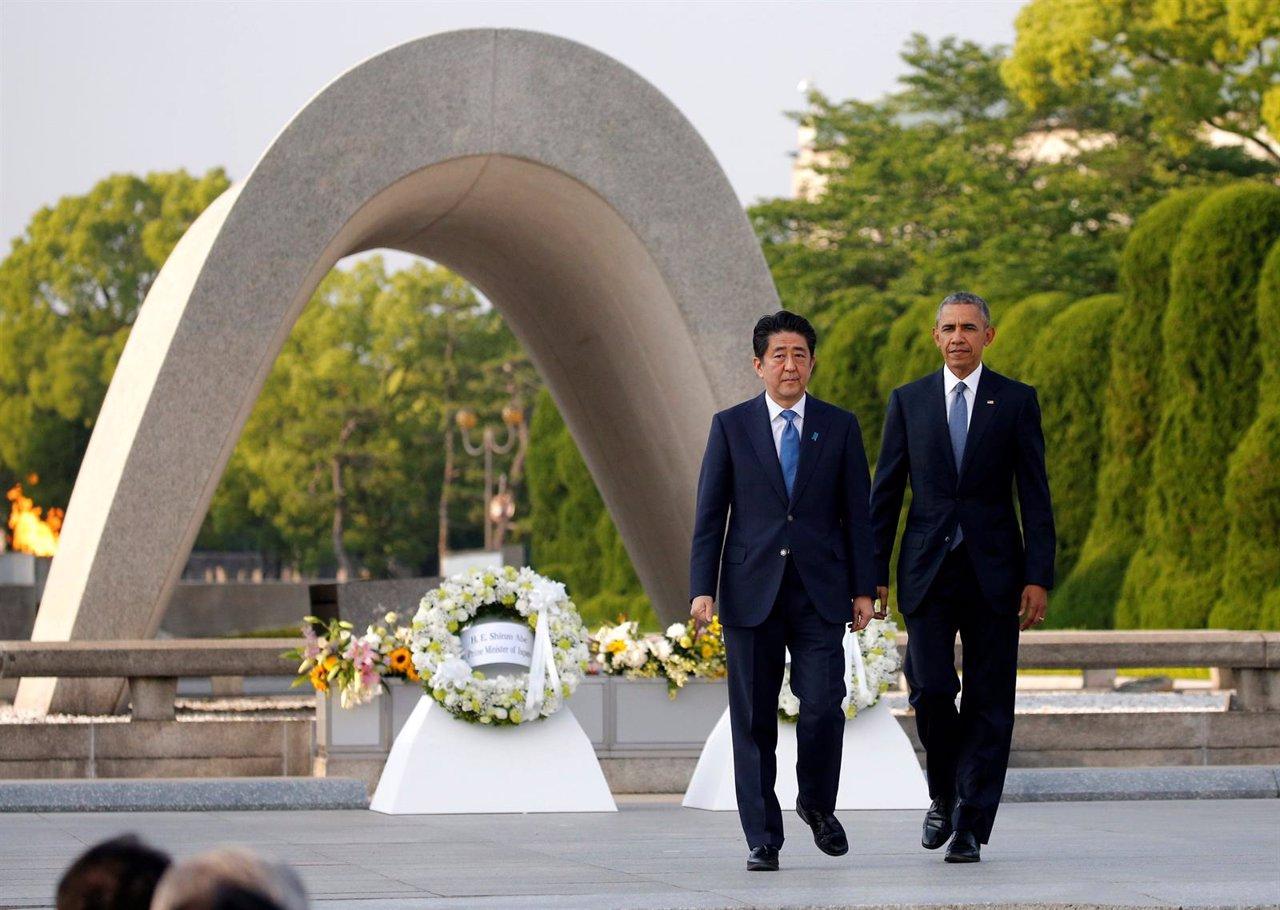 Obama llama desde Hiroshima a 'mirar a los ojos de la Historia'