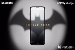 Samsung anuncia un Galaxy S7 Edge de Batman inspirat en 'Injustice: Gods Among Us' (EUROPAPRESS)