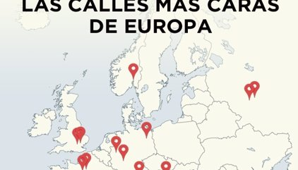 Las calles más caras de Europa