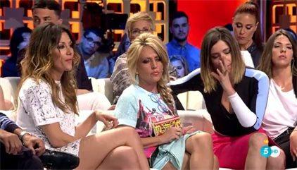 Nagore callada. Sin decir nombres de Sálvame que apoyan sus críticas a Mila Ximénez