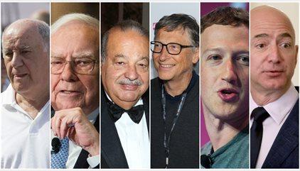 En qué empresas invierten los hombres más ricos del mundo
