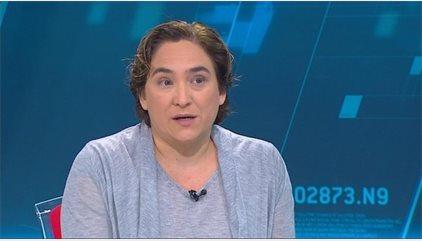 """Ada Colau demana pensar en el servei del Metro """"i no només en els drets dels treballadors"""""""