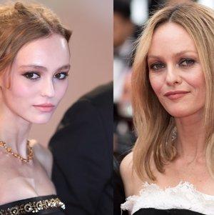 Lily-Rose Depp y Vanessa Paradis sacan las uñas por Johnny Depp