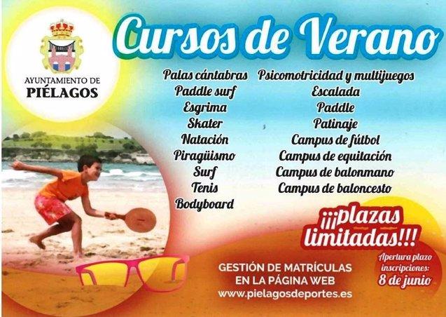 Foto: Piélagos incorpora las palas cántabras a sus actividades deportivas para verano (AYTO)