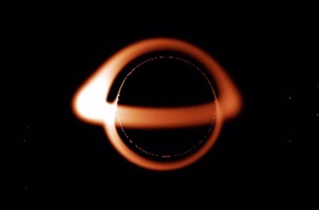 Los agujeros negros pueden ser en dos dimensiones (WIKIPEDIA)