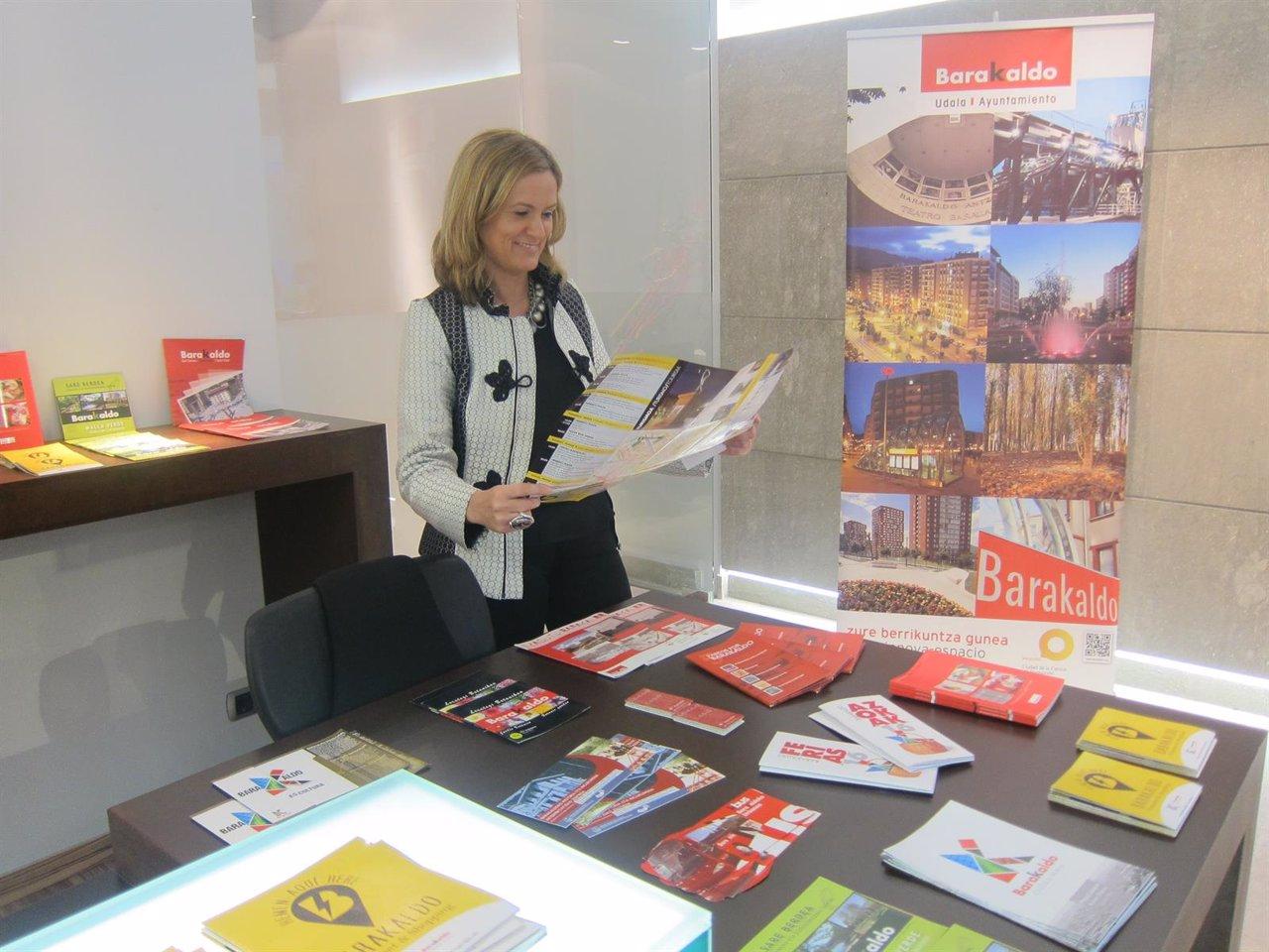 La oficina de turismo de barakaldo de bec estrena nueva imagen for Banco popular bilbao oficinas