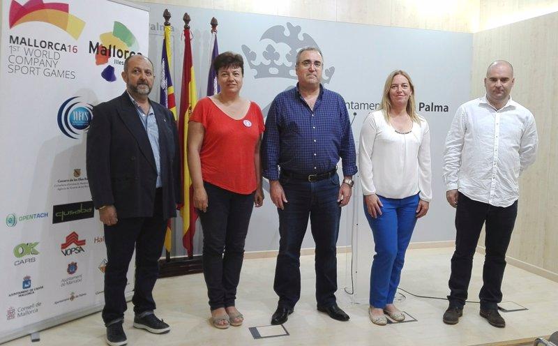 Unos 5.000 deportistas, en los Juegos Mundiales de Deporte de Empresas, con un impacto de hasta 10 millones en Mallorca