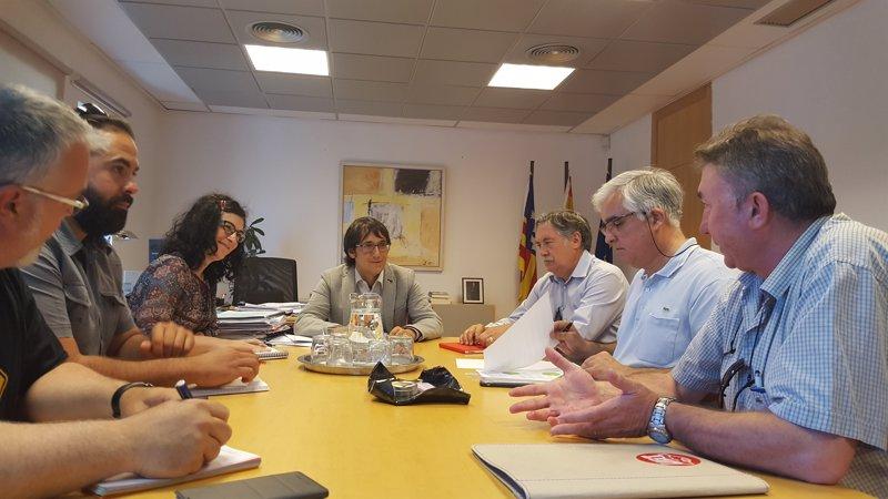 Negueruela pedirá una reunión con AENA por la situación de los trabajadores de los Aeropuertos