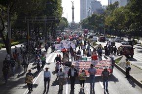 Foto: La CNTE anuncia una semana de protestas por los despidos en todo México (REUTERS)
