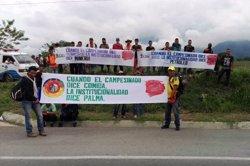 Un mort i dos ferits durant una mobilització camperola a Colòmbia (SANDRA GONZÁLEZ)