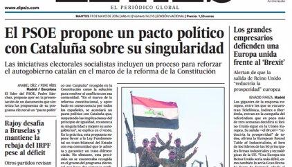 Las portadas de los periódicos de hoy, martes 31 de mayo de 2016