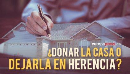 Donar la casa o dejarla en herencia: diferencias entre comunidades autónomas