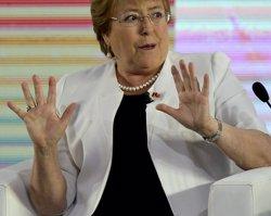 Chile.- La popularidad de Bachelet bate récord a la baja en su segundo mandato (REUTERS)