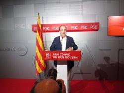 Iceta afirma que el Govern no pot aprovar els comptes perquè els ha fet sense dialogar (EUROPA PRESS)