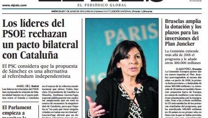 Las portadas de los periódicos de hoy, miércoles 1 de junio de 2016