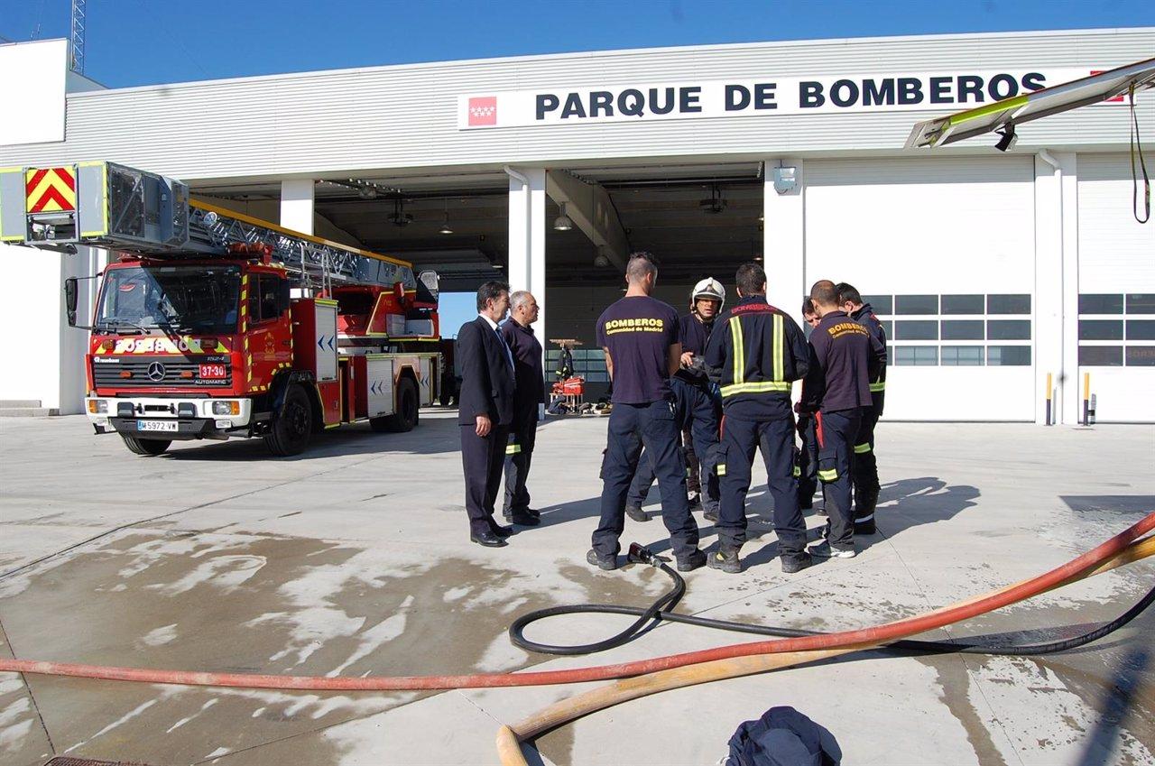 Resultado de imagen de bomberos valdemoro