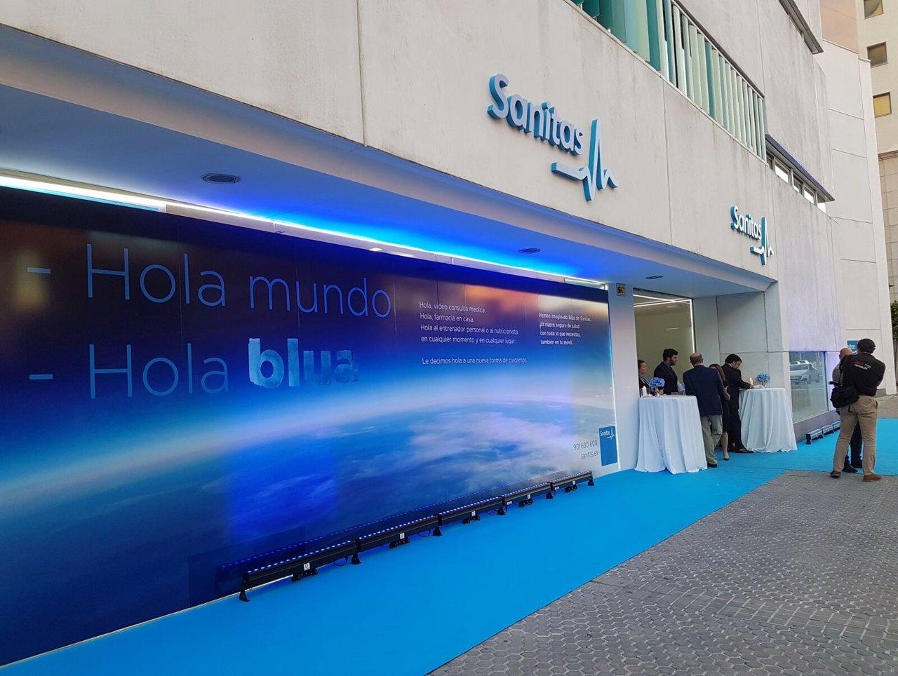 Sanitas abre nueva sede en sevilla for Oficinas centrales sanitas madrid