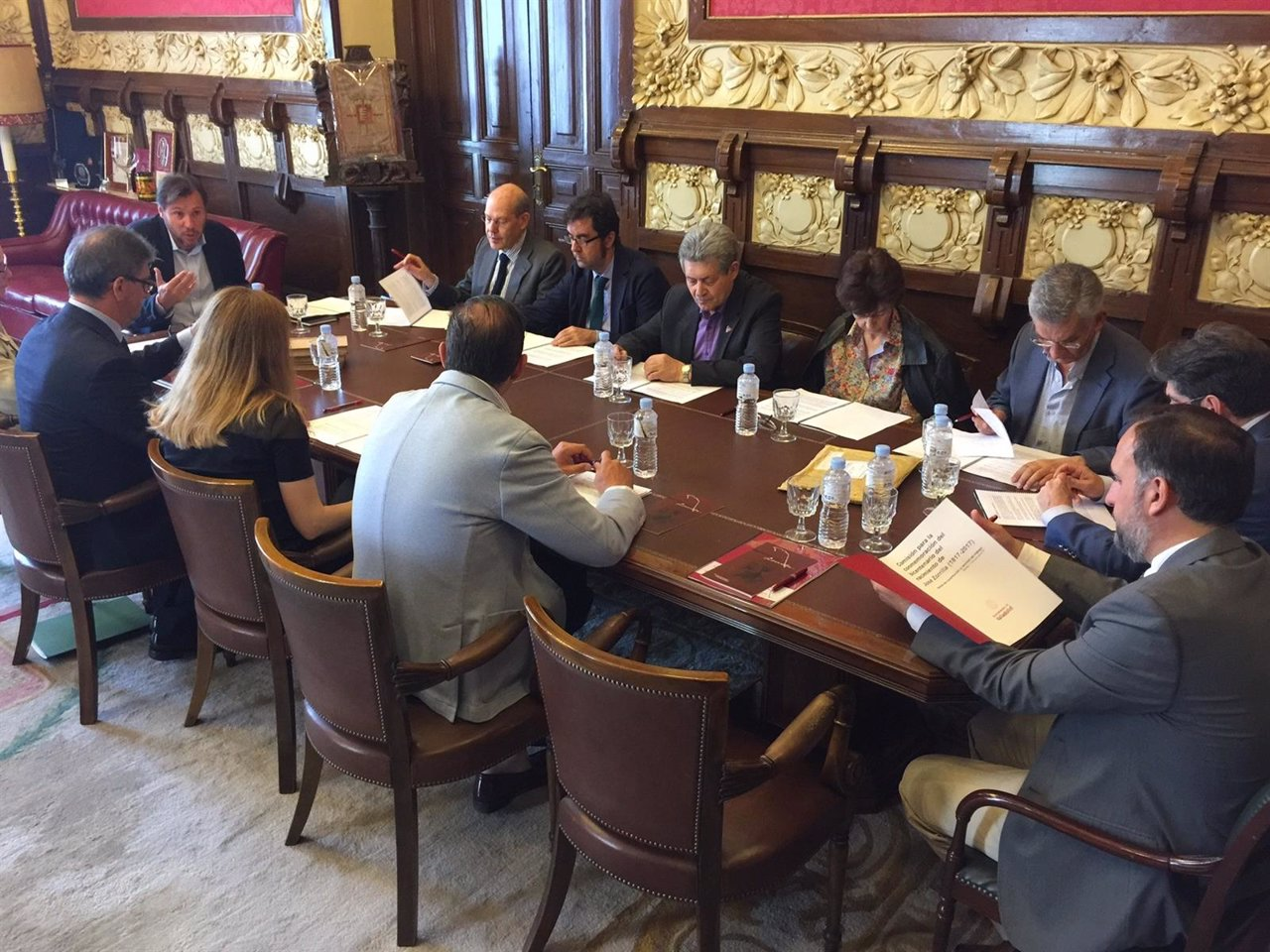 Reunión de la Comisión sobre Zorrilla