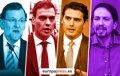ESPANA, ANTE SUS DECIMOTERCERAS ELECCIONES: CUATRO PARTIDOS EN BUSCA DE GOBIERNO