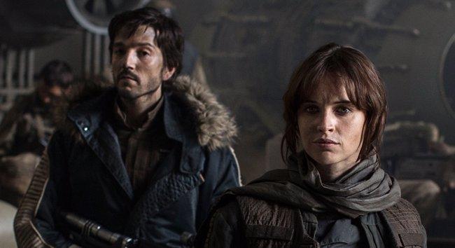 Explosivas imágenes de Rogue One: A Star Wars Story (DISNEY)