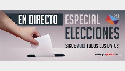 Elecciones Generales 2016 | Directo: La participación baja 7 puntos a las 18 horas, hasta el 51,1%