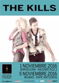 THE KILLS ACTUARAN EN NOVIEMBRE EN BARCELONA Y BILBAO
