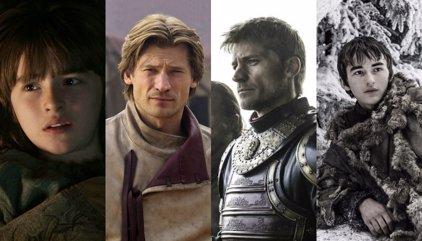 Juego de tronos: Así han cambiado sus protagonistas en 6 temporadas