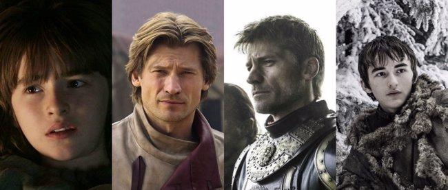 Juego de tronos: Así han cambiado sus protagonistas en 6 temporadas (HBO)