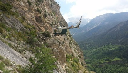 Muere un montañero en la vía ferrata de Sacs, en Benasque (Huesca)