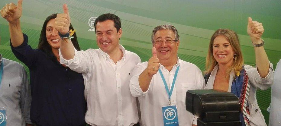 Foto: El PP derrota por primera vez a Susana Díaz y Podemos se estanca en Andalucía (EUROPA PRESS)