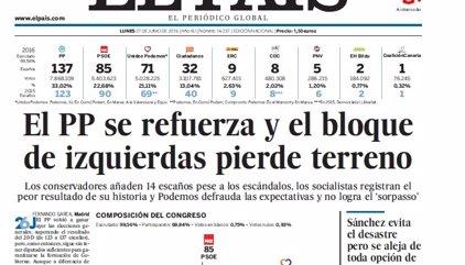 Las portadas de los periódicos de hoy, lunes 27 de junio de 2016