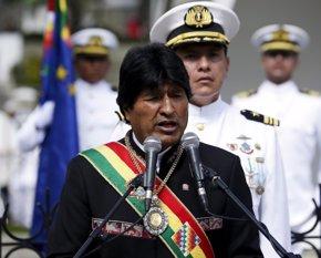 Foto: Morales reclama a Chile que proceda al desminado de la frontera entre ambos países (DAVID MERCADO / REUTERS)