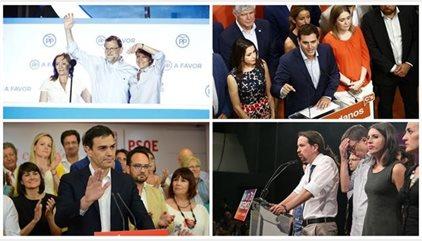 Guía de posibles pactos tras las elecciones generales 2016