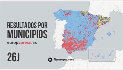 Resultados elecciones 2016 | Comprueba quién ha ganado en tu municipio