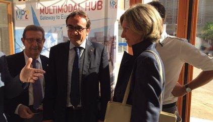 Rull insisteix que l'Estat incompleix compromisos amb el Corredor Mediterrani