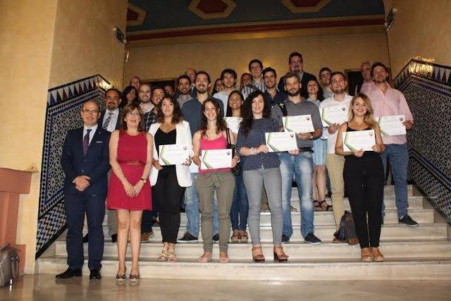 La junta uco y telef nica conceden becas del 39 andaluc a for Guia telefonica malaga