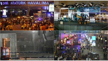 Vídeos e imágenes del atentado en el aeropuerto de Estambul
