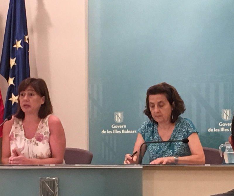 Armengol asegura que el Govern 'funciona y tiene estabilidad política' y que su hoja de ruta 'se está cumpliendo'