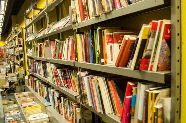 Foto: El sector editorial facturó en España 2.257 millones de euros en 2015, un 2,8% más que en 2014 (EUROPA PRESS)
