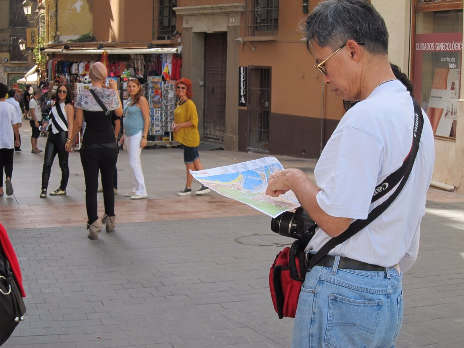 Foto: España recibió 25,2 millones de turistas internacionales hasta mayo, un 11,4% más (EUROPA PRESS)