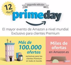 Amazon calienta motores para su Prime Day 2016: el 12 de julio con 100.000 ofertas (AMAZON )