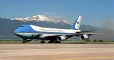 El tancament de la base de l'Air Force One per un tirador actiu, una falsa alarma (WIKIMEDIA COMMONS)