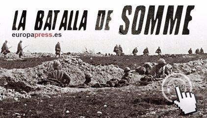 100 años de la sangrienta batalla del Somme, en la I Guerra Mundial