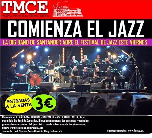 Foto: El '4 Caños Jazz Festival' arranca este viernes con la Big Band de Santander (AYTO )