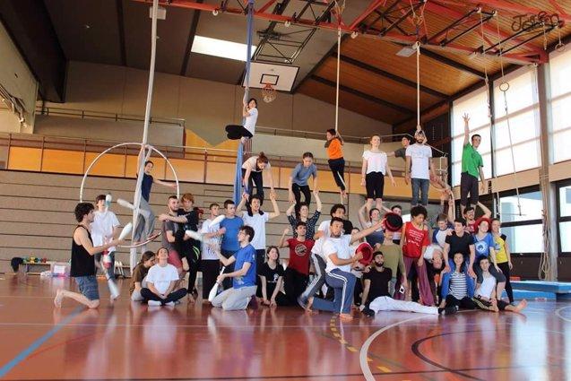 Foto: Malabaracirco participa en Italia en el festival de circo joven 'Il Ruggito delle Pulci' (MALABARACIRCO)