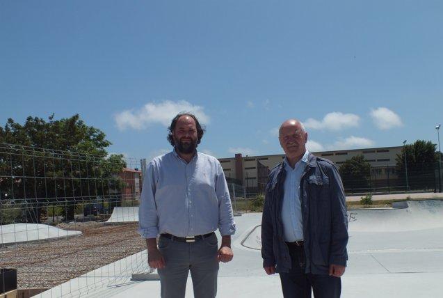 Foto: El Ayuntamiento de Reinosa inicia la obra de ampliación del skatepark (AYTO)